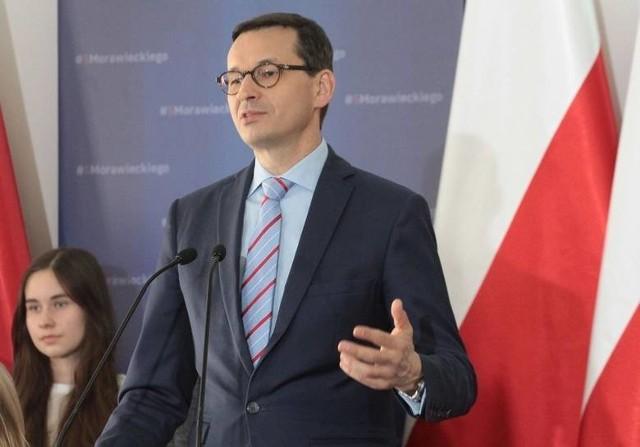 Premier Mateusz Morawiecki spotka się z chełmnianami w poniedziałek po południu