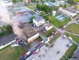 Śmierć dwóch strażaków w pożarze na Dojlidach. W procesie dowódcy sąd przesłuchuje kolejnych świadków