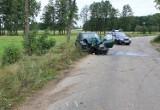 Kobieta spowodowała wypadek. Ucierpiało półtoraroczne dziecko (zdjęcia)