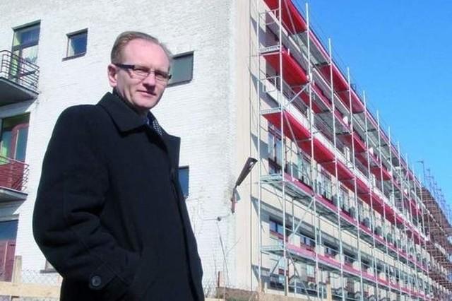 Przemysław Chrzanowski - dyrektor SP ZOZ w Łapach zwolniony, bo szpital ma długi