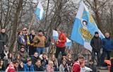 Kibice Juvenii Kraków dopingowali zespół w meczu ze Skrą Warszawa