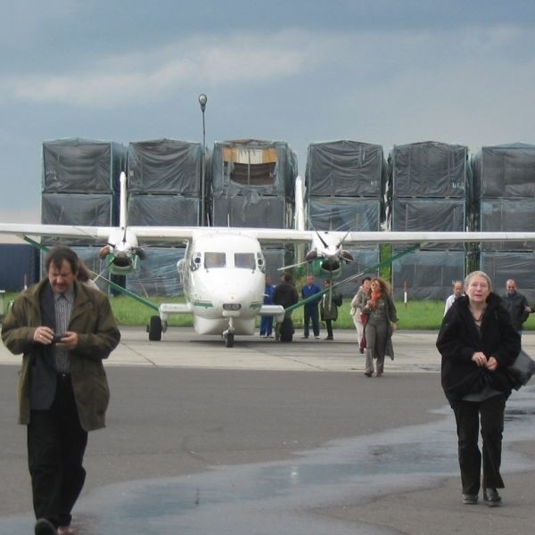 Mieleckie lotnisko, teraz o małym znaczeniu, być może w przyszłości, kiedy zacznie inwestować w swoją infrastrukturę, otworzy się dla ruchu turystycznego.