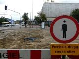 Fotorelacja z placu budowy. Remont torowiska w Pabianicach ZDJĘCIA