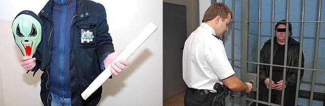 Napad na lombard. Zamaskowana 37-latka użyła trzonka od młotka.