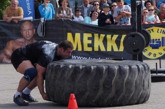Strongman Michał znów zwyciężył