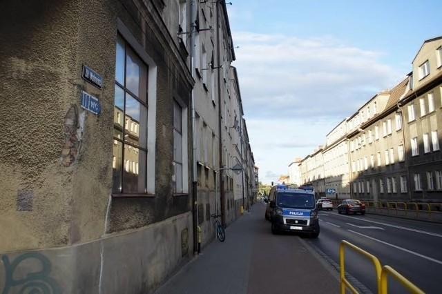 Do zdarzenia doszło przy ul. Wolności w Słupsku, w środę 10 lipca.
