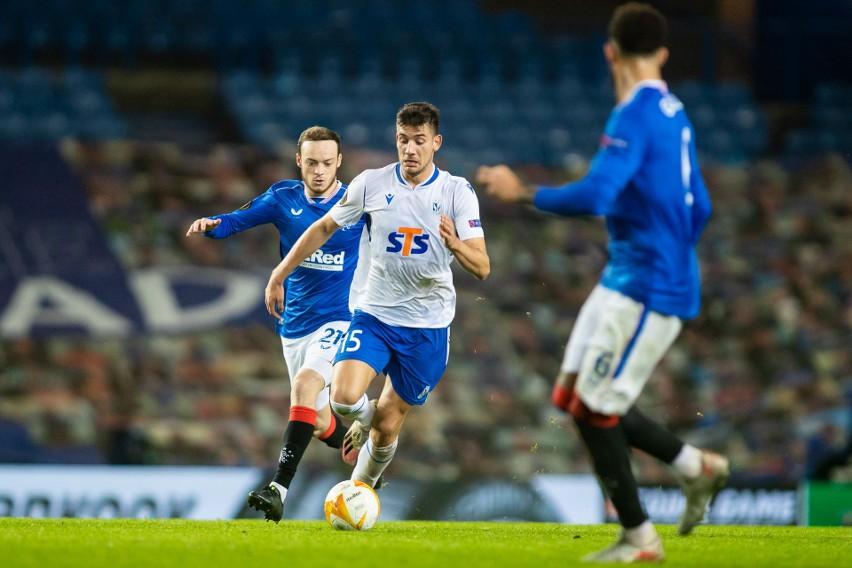 Piłkarze Lecha stoczyli z wicemistrzem Szkocji heroiczny bój...