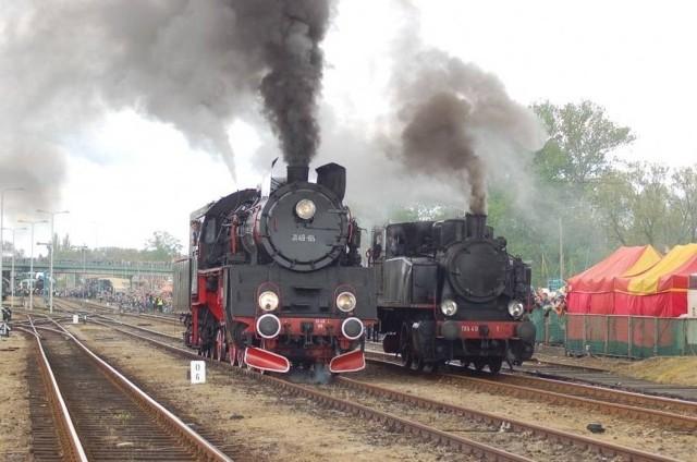 Parada parowozów w Wolsztynie