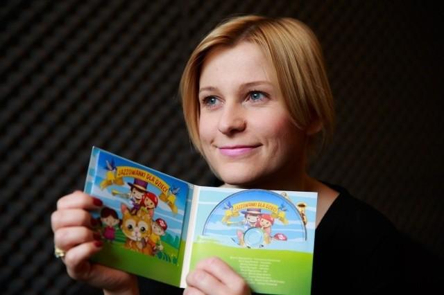 Dorota Hermanowicz razem z białostockimi muzykami i grupką dzieci nagrała płytę wyjątkową, skierowaną do najmłodszych.