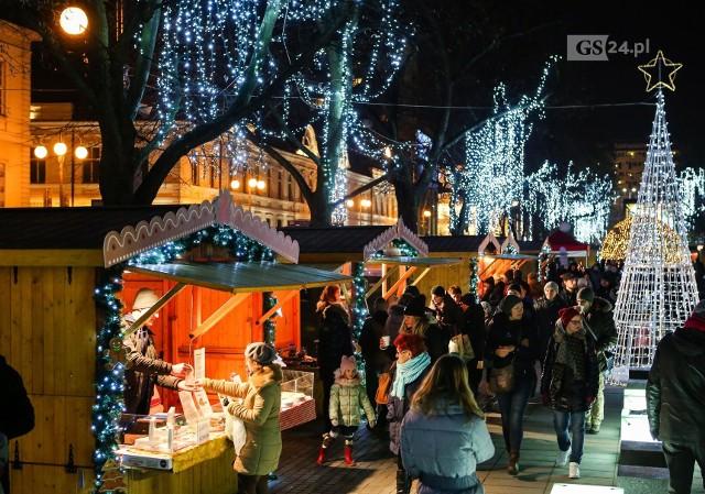 Jarmark Bożonarodzeniowy w Szczecinie w 2019 roku