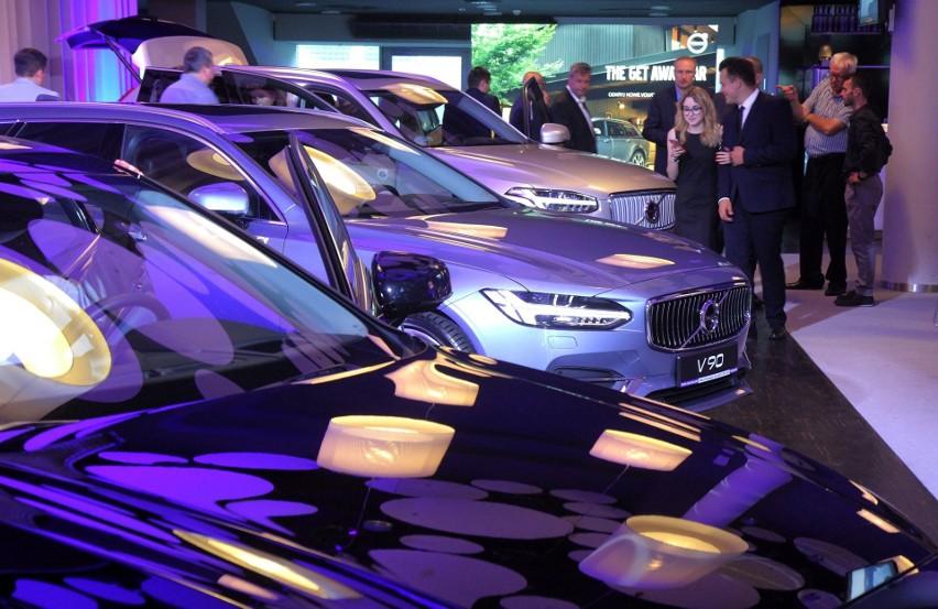 Premiera nowego Volvo XC60. Firma Inter-Car Bielany...