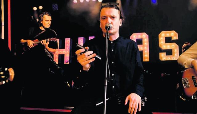 Hubert Biczkowski z zespołem zagra na scenie na usteckiej promenadzie w niedzielę o godz. 19.