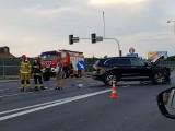 Groźny wypadek w Mikołowie na DK 81. Ranni zabrani do szpitala. Lądował śmigłowiec LPR