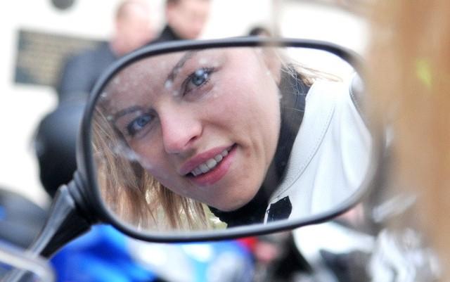 Karolina Solarek z Zielonej Góry motorami pasjonuje się od 3 lat.