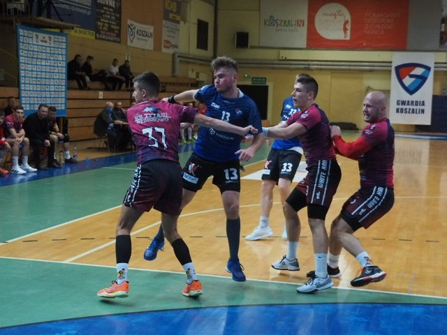 W zaległym meczu 5. kolejki Gwardia pokonała ligowego outsidera z Wejherowa.
