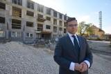 Trwa budowa dwóch nowych oddziałów szpitala Krystyna w Busku-Zdroju. Koszt to 30 milionów złotych [ZDJĘCIA, WIDEO]