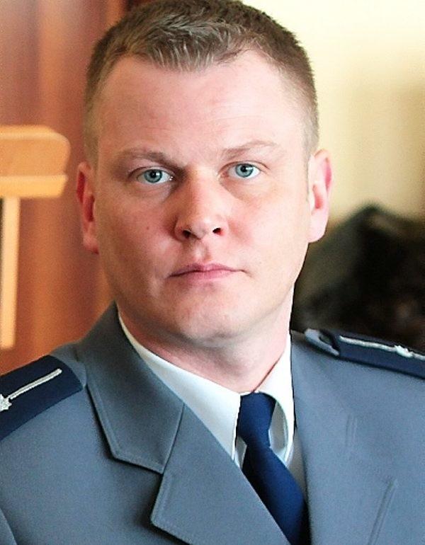 Marek Steinke, p.o. kierownika posterunków  Gostycynie