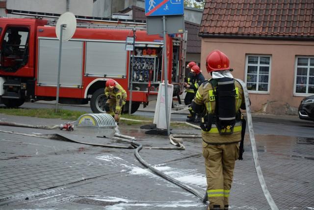 W 2020 roku sępoleńska straż pożarna interweniowała prawie tysiąc razy