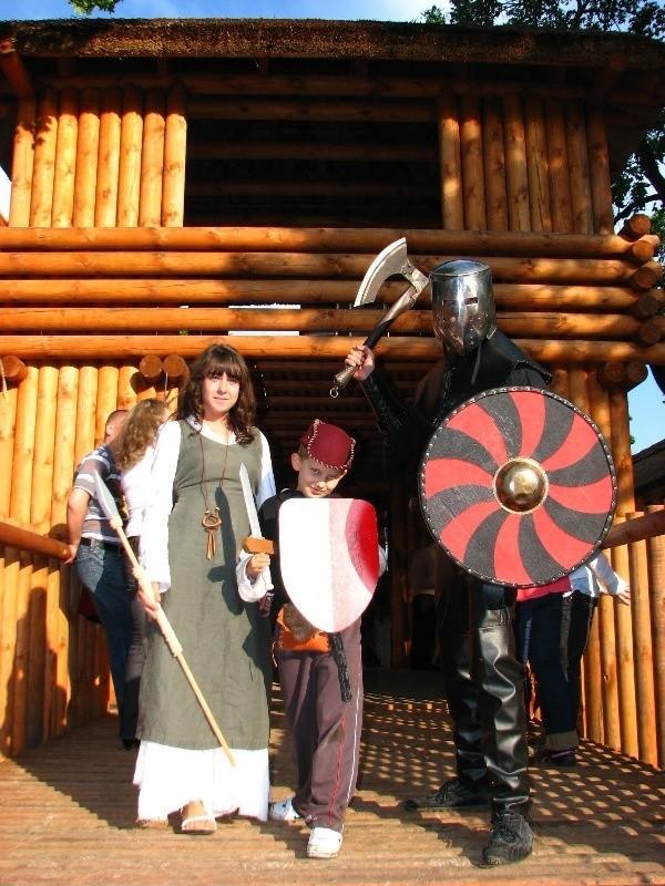 Dni Ostrowi 2009 - otwarcie Grodu Ksiąząt