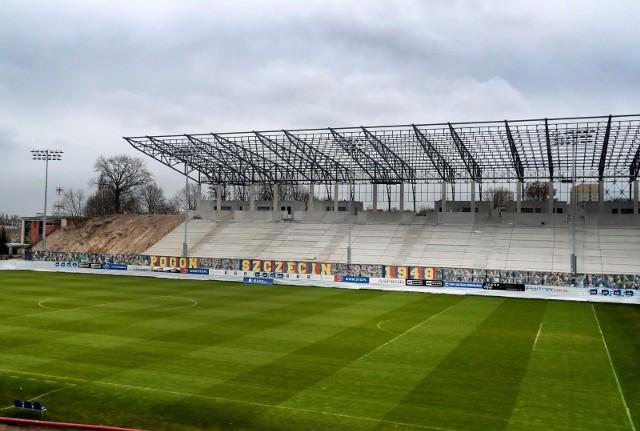 Stadion Pogoni Szczecin - stan na 20 marca 2020.