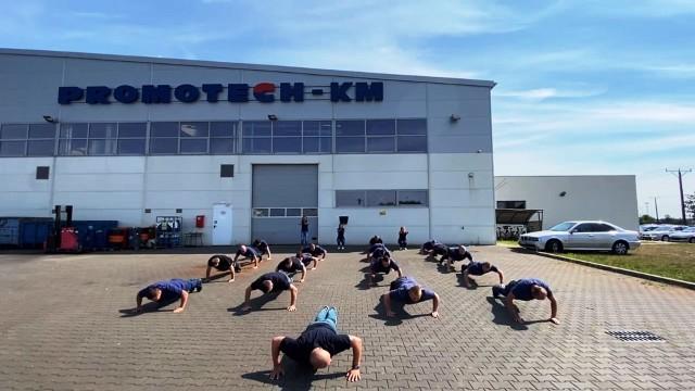 Promotech KM w akcji Gaszyn Challenge