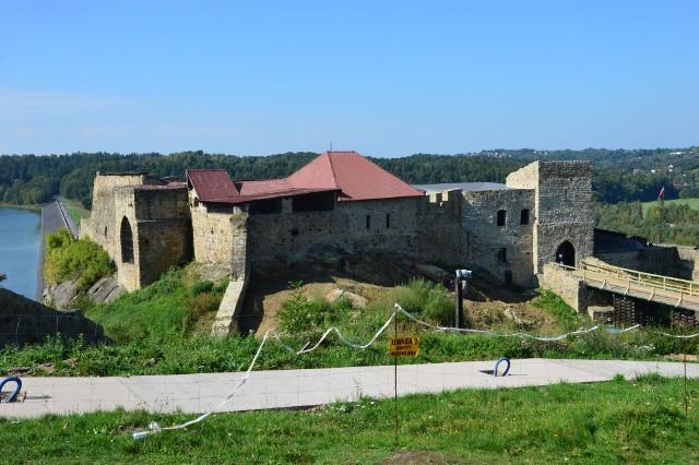 Tak wygląda zamek w październiku 2021 roku