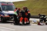 Wypadek w Suchatówce na DK 15. Zderzenie pięciu aut. Jedna osoba w szpitalu