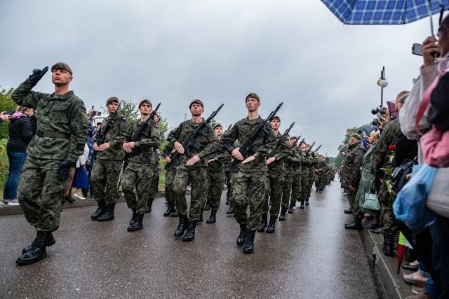 Odbyła się przysięga wojskowa kolejnych żołnierzy 5. Mazowieckiej Brygady Żołnierzy Terytorialnej