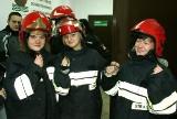 Licealiści z klasy mundurowej odwiedzili strażaków (zdjęcia)