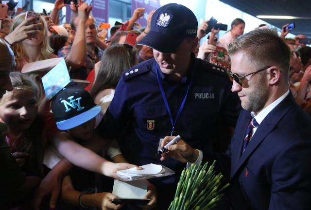 Polscy piłkarze wrócili do kraju.