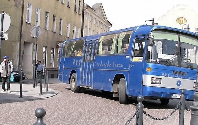 Zakaz przejazdu autokarów PKS-u przez centrum to jedna z propozycji zmian organizacji ruchu w naszym mieście.