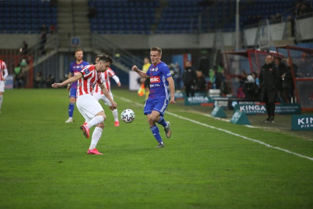 Sebastian Milewski błysnął w meczu Piast - Cracovia