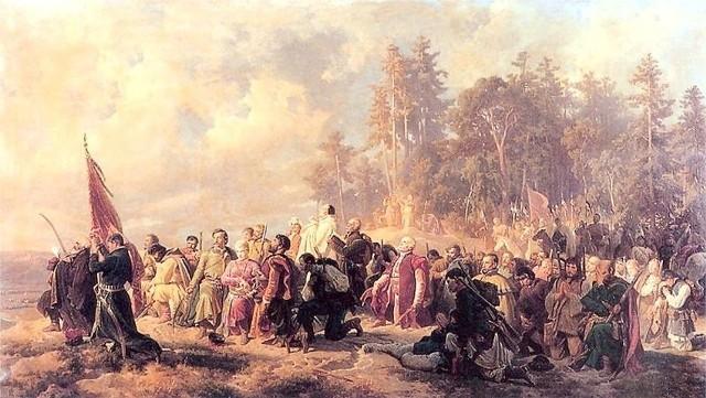 Artur Grottger, Modlitwa konfederatów barskich
