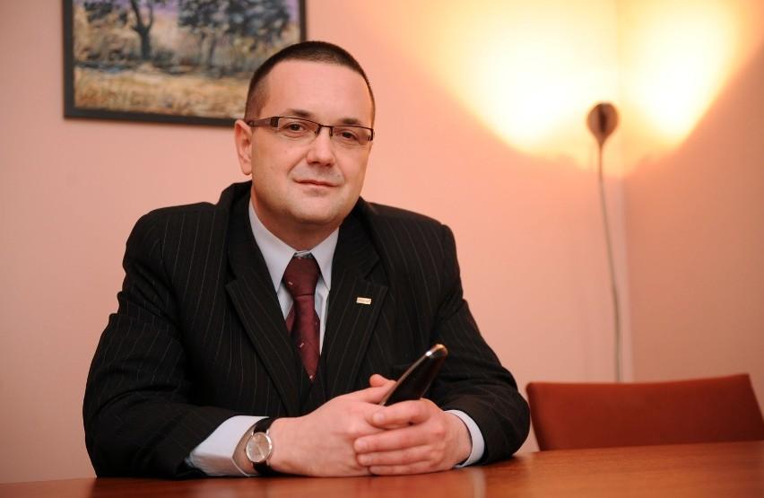 Grzegorz Karolczyk z Miejskiego Ośrodka Pomocy Rodzinie w Poznaniu