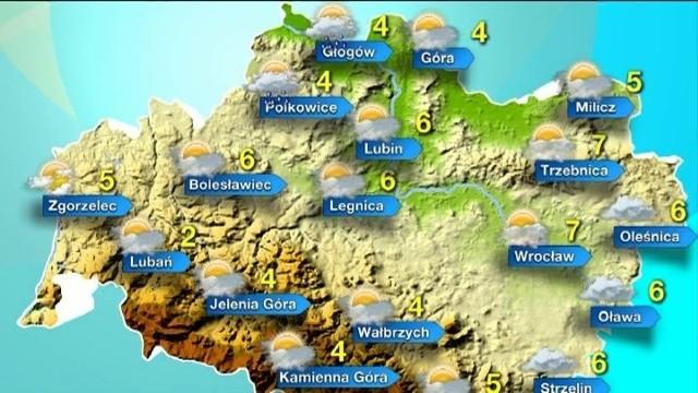 Styczeń 2014 - prognoza pogody dla Wrocławia i Dolnego Śląska