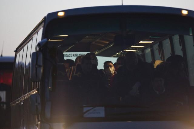 Uchodźcy odsyłani z wyspy Lesbos