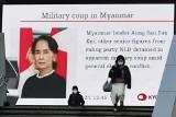 Birma: wojskowy zamach stanu. Zatrzymano laureatkę Pokojowej Nagrody Nobla Aung San Suu Kyi