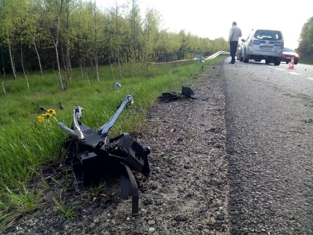 Śmiertelny wypadek motocyklisty w Pogorzelicach