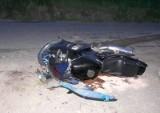 Mała Huta: Wypadek motocyklisty
