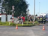 Śmiertelny wypadek w powiecie świeckim. Samochód zderzył się z pociągiem [zdjęcia]