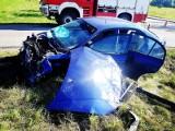 Wypadek w Dębinkach. Sprawca nie miał prawa jazdy!