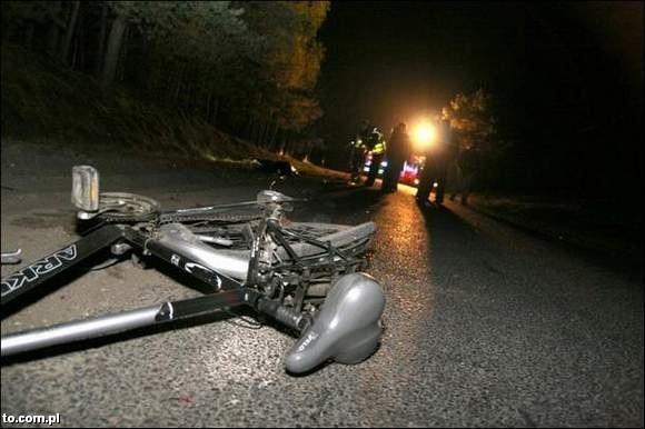 Tym rowerem jechał mężczyzna potrącony przez Adama J.