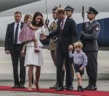 Księżna Kate i książę William już w Polsce! [ZDJĘCIA]