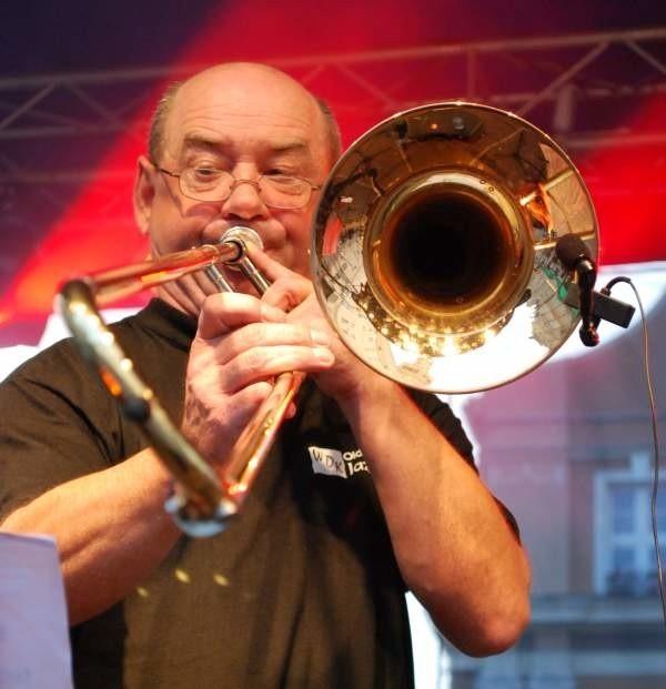 Old Traditional Jazz Band - koncert na rynku w Opolu.
