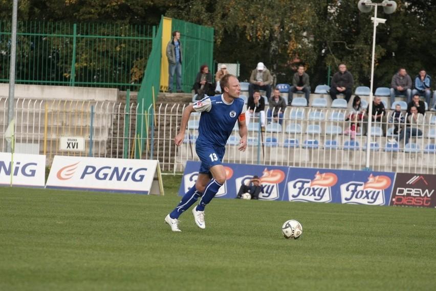 Robert Kozioła strzelił w sobotę w Gryfinie w sparingu z Energetykiem pierwszego gola dla Stilonu