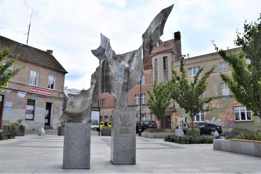 Pomnik na placu Matejki w Zielonej Górze został odsłonięty w...