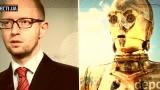 """A. Jaceniuk niczym C-3PO. Ukraińscy politycy przypominają postacie z """"Gwiezdnych Wojen"""" (wideo)"""