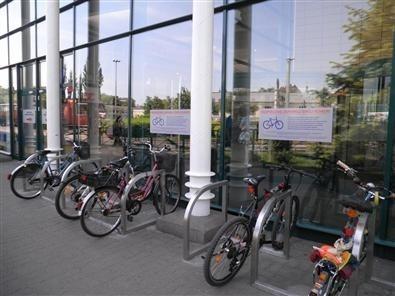 W ostatnim czasie Centrum Handlowe Rondo m.in. zmodernizowało parkingi rowerowe