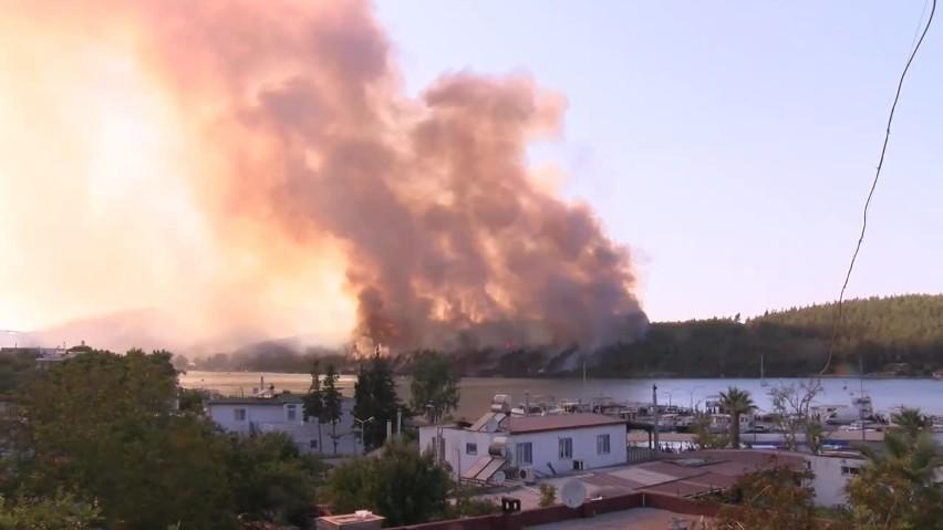 Ogromne pożary na południu Turcji. Są ofiary śmiertelne. MSZ...