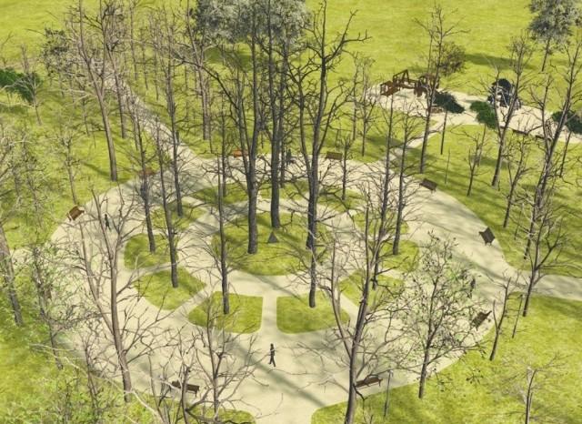Park im. Konstytucji 3 Maja jest pozostałością pierwotnych lasów, które porastały w XV-XVI wieku dobra białostockie